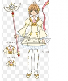 Cardcaptor Sakura: Clear Card Sakura Kinomoto ED EXQ Figure Model Cosplay Costume