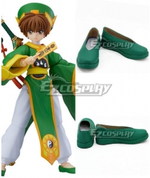 Cardcaptor Sakura: Clear Card Syaoran Li Green Cosplay Shoes