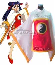 Cardcaptor Sakura Meiling Li Fighting Cosplay Costume