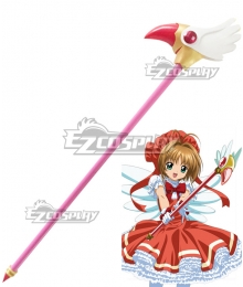 Cardcaptor Sakura Sakura Kinomoto First Magic Wand Cosplay Weapon Prop