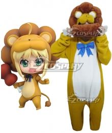 Saber Carnival Phantasm Artoria Pendragon Saber Lion Cosplay Costume