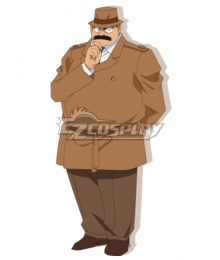 Case Closed Detective Conan Melkior Gin Cosplay Costume