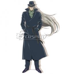 Case Closed Detective Conan Melkior Gin Cosplay Costume