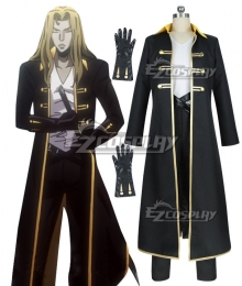 Castlevania Season 2 2018 Anime Alucard Cosplay Costume