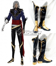 Castlevania Season 2 2018 Anime Hector Black Shoes Cosplay Boots