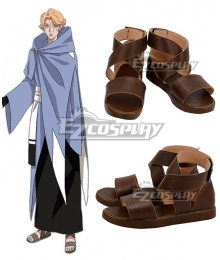 Castlevania Season 2 2018 Anime Sypha Belnades Brown Cosplay Shoes