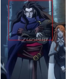 Castlevania Season 3 Netflix 2020 Anime Striga Black Cosplay Wig