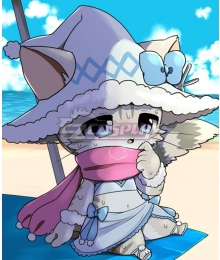 Cat Busters Mafumofu Swimsuit Cosplay Costume