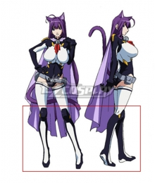 Cat Planet Cuties Asobi ni Iku Yo! Kuune Black White Shoes Cosplay Boots