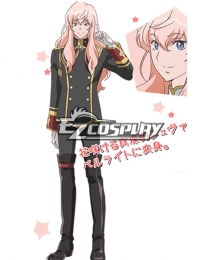 Cute High Earth Defense Club LOVE! Akoya Gero Chevalier Perlite Cosplay Costume