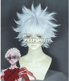 Cells at Work Cancer Cell White New Edition Cosplay Wig
