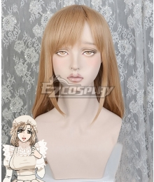Cells At Work Macrophage Brown Cosplay Wig