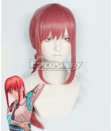 Chainsaw Man Makima Pink Cosplay Wig