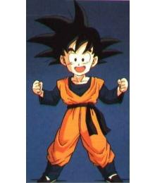Dragon Ball Son Goten Practising Clothing Cosplay Costume