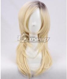 Child's Play Bride of Chucky Halloween Tiffany Valentine Golden Black Cosplay Wig