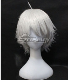 Chivalry of a Failed Knight Rakudai Shizuku Kurogane White Cosplay Wig