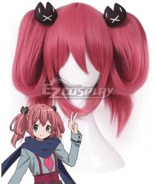 Chuunibyou Demo Koi ga Shitai Satone Shichimiya Pink Cosplay Wig