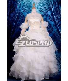Beautiful Euphemia Li Britannia Wedding Dress Cosplay Costume Code Gaess