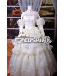 Code Gaess Euphemia White Dress Cosplay Costume