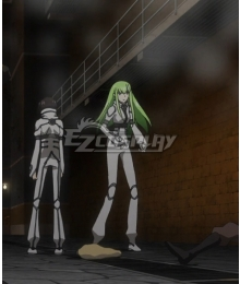 Code Geass Lelouch of the Resurrection C.C.  Lelouch Lamperouge  Jail Cosplay Costume