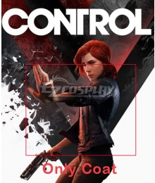 Control Jasse Faden Cosplay Costume - Only Coat