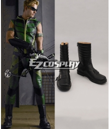 DC Comics Green Arrow Oliver Queen Cosplay Shoes