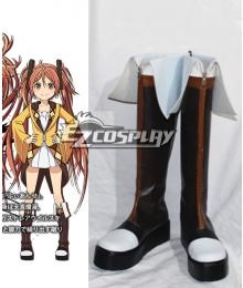 Black Bullet Enju Aihara Boots