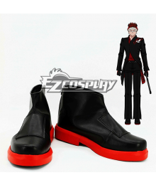 RWBY The White Fang Adam Taurus Black Cosplay Shoes