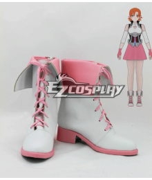 RWBY Beacon Academy Team JNPR Nora Valkyrie Pink Shoes Cosplay Boots