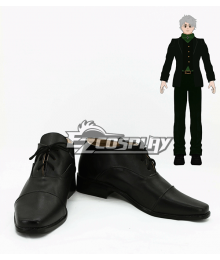 RWBY Beacon Academy Staff Professor Ozpin Cosplay Shoes