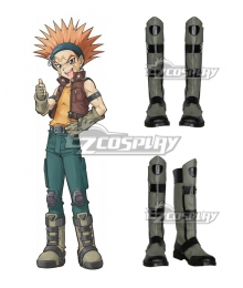 Yu-Gi-Oh! Yugioh 5D's Crow Hogan Cosplay Flat Shoes