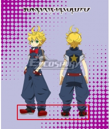 Concrete Revolutio Konkuriito Reborutio Choujin Gensou Fuu Routa Red Cosplay Shoes