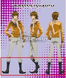 Concrete Revolutio Konkuriito Reborutio Choujin Gensou Yoshimura Hyouma Brown Cosplay Boots