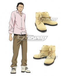 Noragami Aragoto Daikoku Yellow Cosplay Shoes