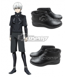 Tokyo Ghoul Tokyo Guru √A Ken Kaneki Black Cosplay Shoes