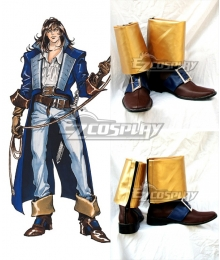 Castlevania Richter Belmont Cosplay Boots