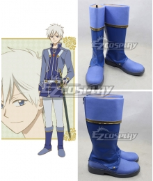 Snow White with the Red Hair Akagami no Shirayukihime Zen Wistalia Blue Shoes Cosplay Boots