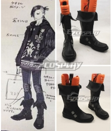 Tokyo Ghoul Tokyo Guru √A Uta Black Cosplay Boots