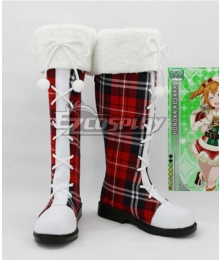 LoveLive! Love Live Christmas Boots Cosplay Shoes Version D