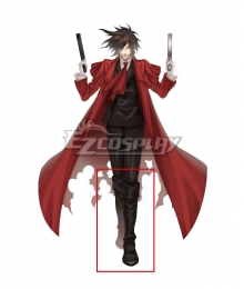 Hellsing Alucard Brown Shoes Cosplay Boots