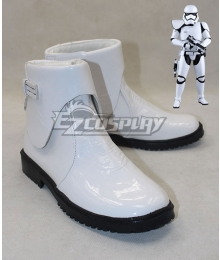 Star Wars The Force Awakens Stormtrooper White Cosplay Shoes
