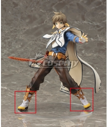 Tales of Zestiria the X Sorey White Cosplay Shoes