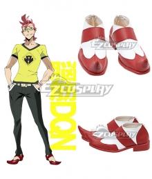 Kiznaiver Hajime Tenga Red Cosplay Shoes