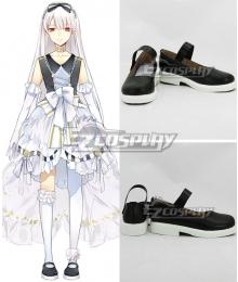 Tsukiuta. Tsubaki Tindouin Seleas November Black Cosplay Shoes
