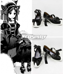 Black Butler Sieglinde Sullivan Emerald Witch Black Cosplay Shoes