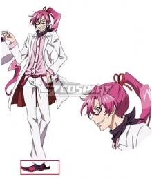 Servamp Belkia Melancholy Red Cosplay Shoes