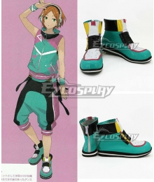 Ensemble Stars Unit 2wink Hinata Aoi Yuta Green Cosplay Shoes