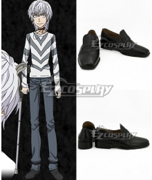 Certain Magical Vector Change Level5 Black Cosplay Shoes