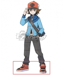 Pokémon Black White Pokemon Pocket Monster Hilbert Cosplay Shoes