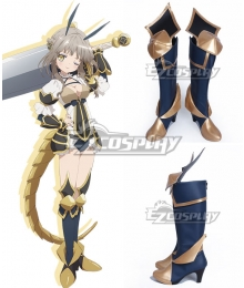Magical Girl Raising Project La Pucelle Souta Kishibe Deep Blue Shoes Cosplay Boots